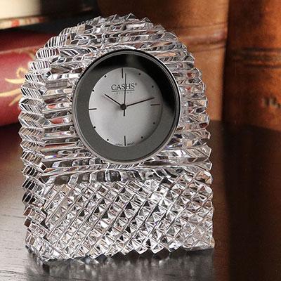 Cashs Crystal Georgian Dome Clock