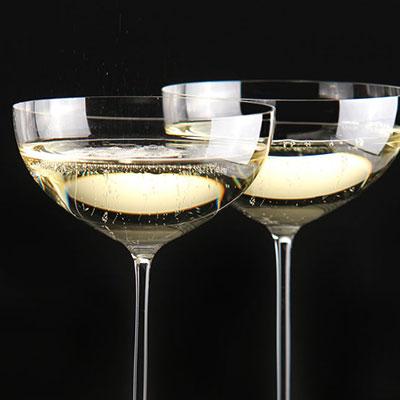 Riedel Veritas Coupe, Moscato, Martini, Pair