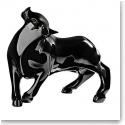 Lalique Bull Taureau Vuelta Black, Limited Edition of 49