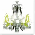 Baccarat Etrange Zenith Sur La Lagune 15 Light Chandlier, Limited Edition