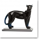 Baccarat Panther Large, Midnight Limited Numbered Edition, 99 Pieces