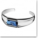 Baccarat Louxor Small Bracelet, Silver and Blue Mordore