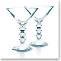 Baccarat Vega Martini Glass Clear, Pair