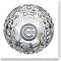 Waterford Chicago Cubs Baseball Paperweight