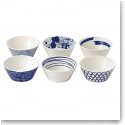 Royal Doulton Pacific Set of Six Tapas Bowls Mixed Patterns
