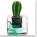 Kosta Boda Brick Votive, Green