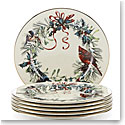Lenox Winter Greetings Salad Plates, Buy 3 Get 6