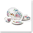 Lenox China Butterfly Meadow Hydrangea 12 Piece Set