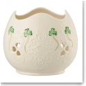 Belleek Living Shamrock Lace Pierced Votive
