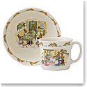 Royal Doulton Bunnykins Nurseryware Infant Bowl and Mug, Set
