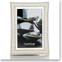 Nambe Metal Beaded 4x6 Picture Frame
