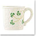Belleek China Shamrock Baby Cup
