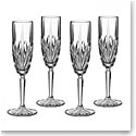 Marquis By Waterford Brookside Flutes, Set of Four