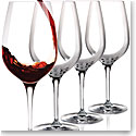 Cashs Crystal Wine Cru Cabernet, Merlot Red Wine Glasses, Set of 4