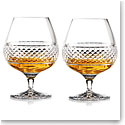 Cashs Crystal Cooper Large Brandy Glasses, Set of 4