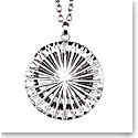 Cashs Crystal Newgrange Circle Pendant Necklace, Large