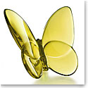 Baccarat Lucky Butterfly, Amber