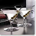 Waterford Elegance Martini Glass, Pair