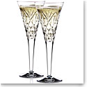 Waterford Huntley Celebration Toasting Flutes, Pair
